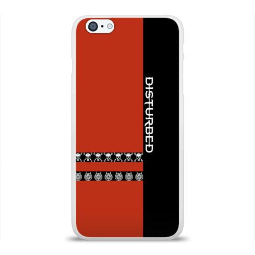 Чехол для Apple iPhone 6Plus/6SPlus силиконовый глянцевый  Фото 01, Disturbed