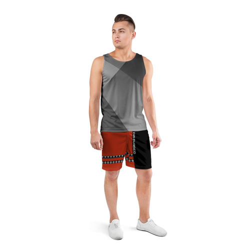 Мужские шорты 3D спортивные  Фото 04, Disturbed