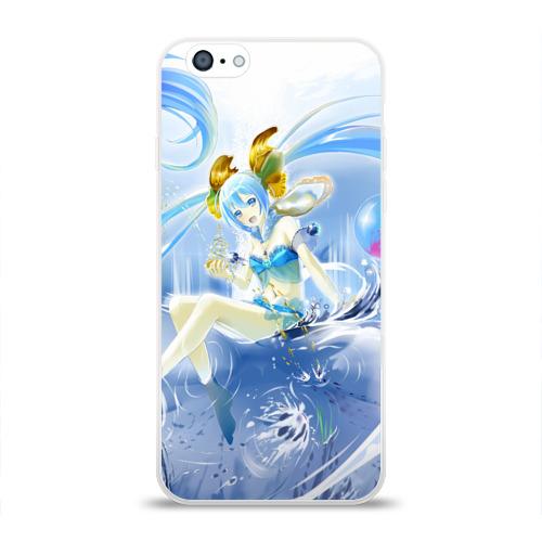 Чехол для Apple iPhone 6 силиконовый глянцевый  Фото 01, Anime