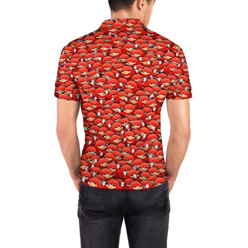 Мужская рубашка поло 3D  Фото 04, Угандийские Наклзы
