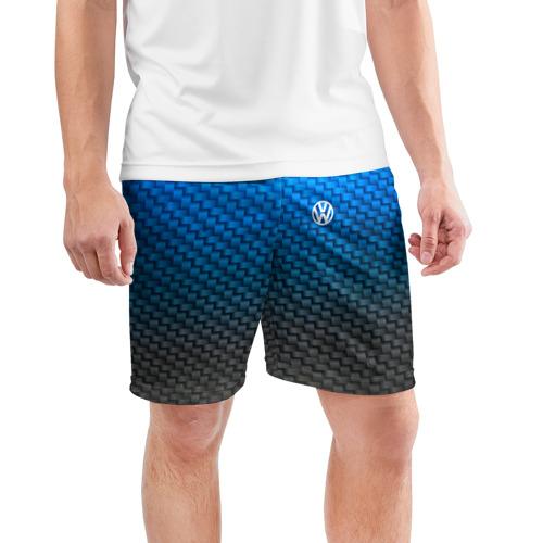 Мужские шорты 3D спортивные  Фото 03, VOLKSWAGEN COLLECTION CARBON