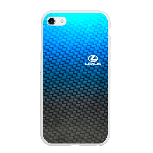 Чехол для iPhone 6Plus/6S Plus матовый LEXUS COLLECTION CARBON Фото 01