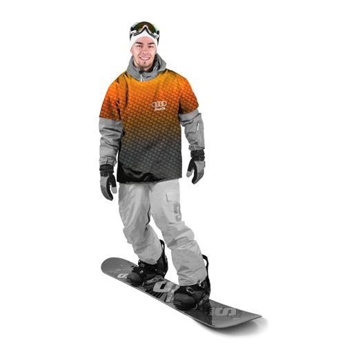 Накидка на куртку 3D  Фото 03, AUDI COLLECTION CARBON