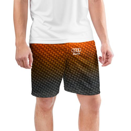 Мужские шорты 3D спортивные  Фото 03, AUDI COLLECTION CARBON