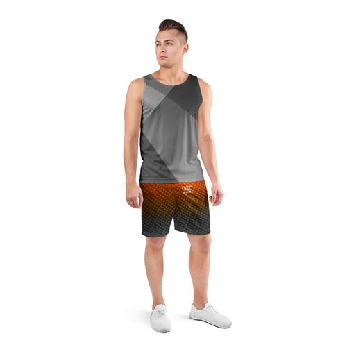 Мужские шорты 3D спортивные  Фото 04, AUDI COLLECTION CARBON