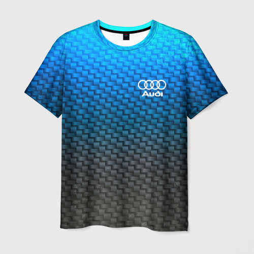 Мужская футболка 3D  Фото 03, AUDI COLLECTION CARBON