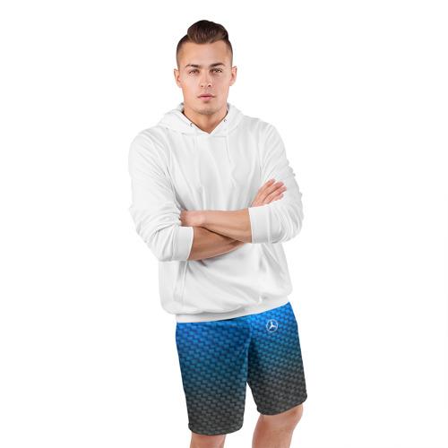 Мужские шорты 3D спортивные  Фото 05, MERCEDES COLLECTION CARBON