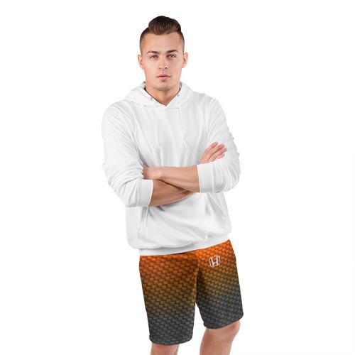 Мужские шорты 3D спортивные  Фото 05, HONDA COLLECTION CARBON