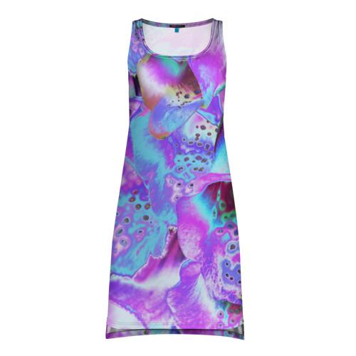 Платье-майка 3D Цветы Аватара