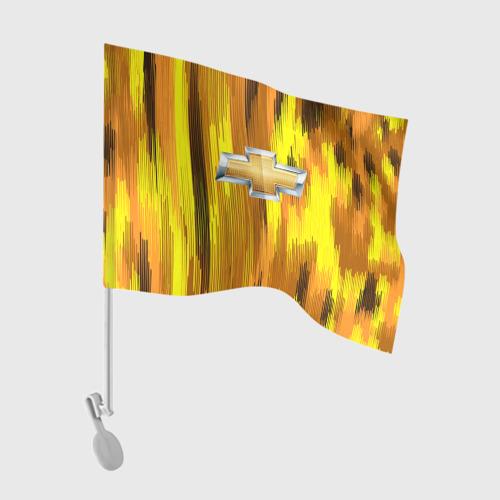 Флаг для автомобиля Chevrolet abstract sport 2018 Фото 01