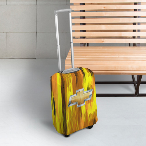 Чехол для чемодана 3D Chevrolet abstract sport 2018 Фото 01
