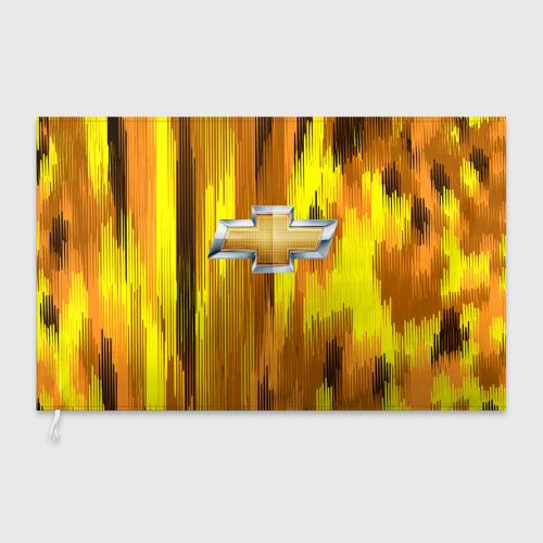 Флаг 3D Chevrolet abstract sport 2018 Фото 01