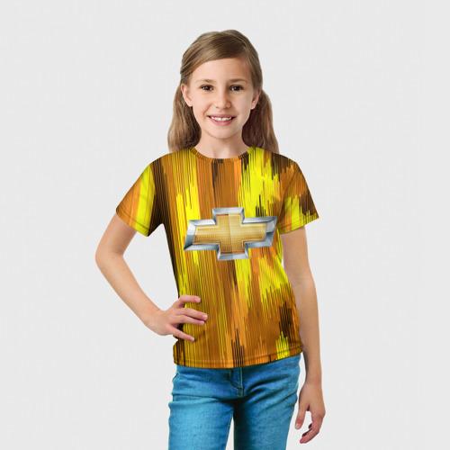 Детская футболка 3D Chevrolet abstract sport 2018 Фото 01