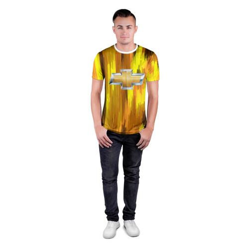 Мужская футболка 3D спортивная Chevrolet abstract sport 2018 Фото 01