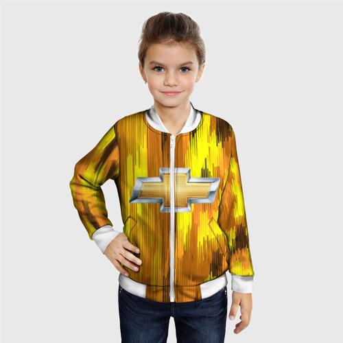 Детский бомбер 3D Chevrolet abstract sport 2018 Фото 01