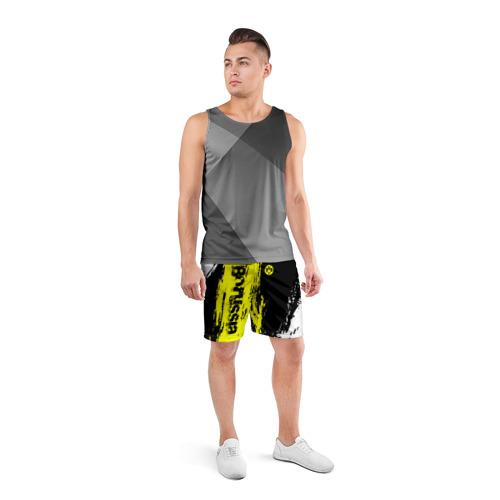 Мужские шорты 3D спортивные  Фото 04, BORUSSIA SPORT
