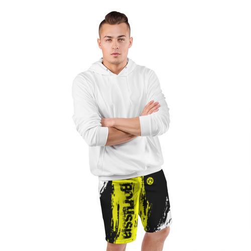 Мужские шорты 3D спортивные  Фото 05, BORUSSIA SPORT