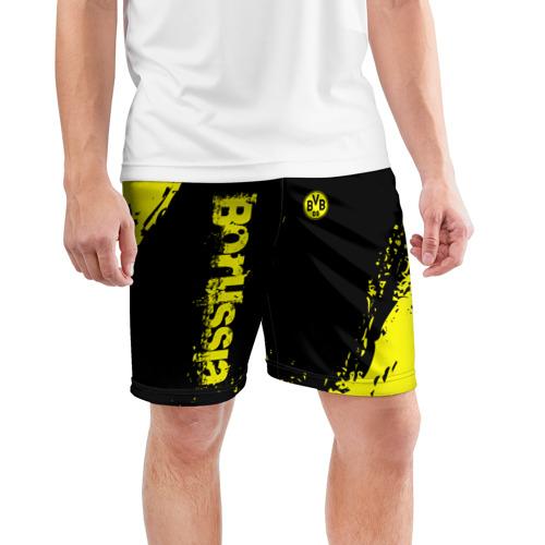 Мужские шорты 3D спортивные  Фото 03, BORUSSIA SPORT