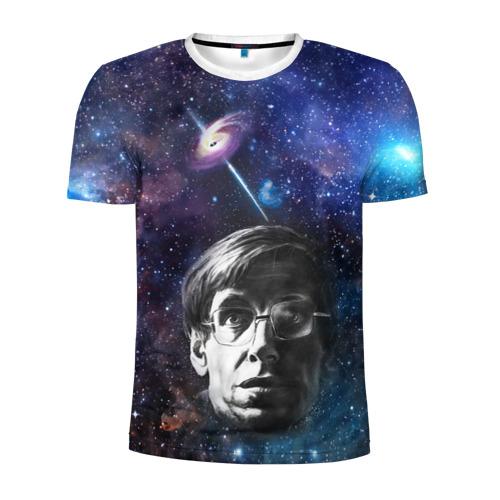 Мужская футболка 3D спортивная  Фото 01, Великий ученый