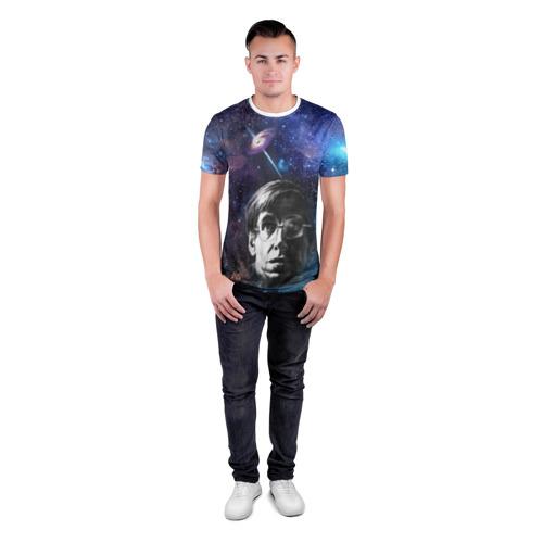 Мужская футболка 3D спортивная  Фото 04, Великий ученый