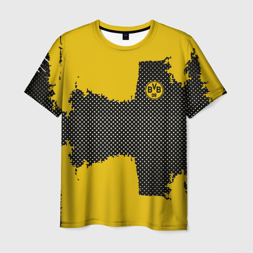 Мужская футболка 3D  Фото 01, BORUSSIA SPORT YELLOW