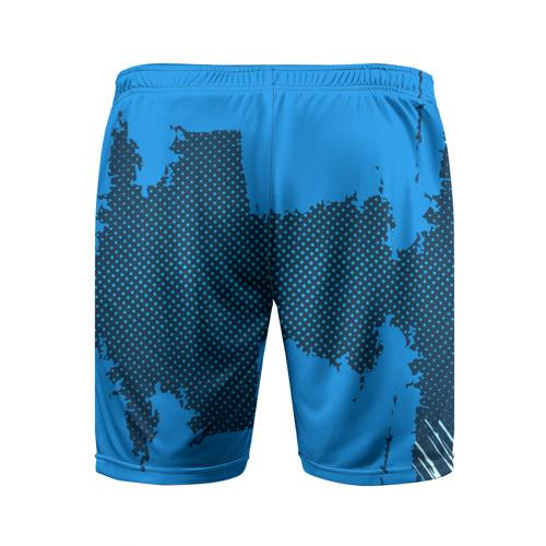 Мужские шорты 3D спортивные  Фото 02, BARCELONA SPORT BLUE