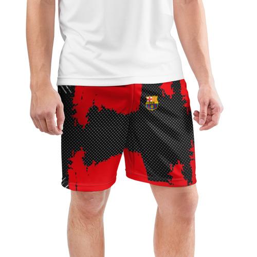 Мужские шорты 3D спортивные  Фото 03, BARCELONA SPORT RED