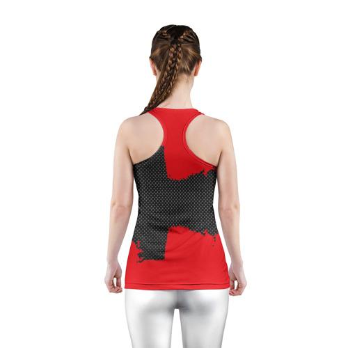 Женская майка 3D спортивная  Фото 04, ARSENAL SPORT RED