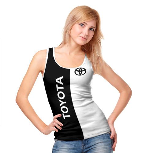 Женская майка 3D Toyota