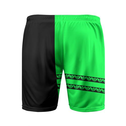 Мужские шорты 3D спортивные  Фото 02, Green Day
