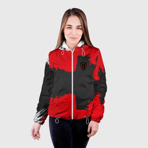 Женская куртка 3D  Фото 03, PARIS SPORT RED