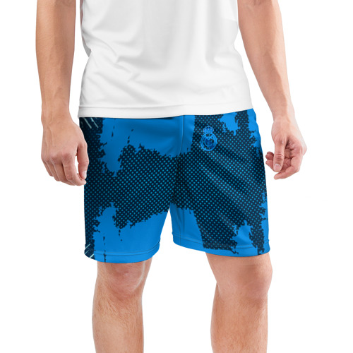Мужские шорты 3D спортивные  Фото 03, REAL MADRID SPORT BLUE