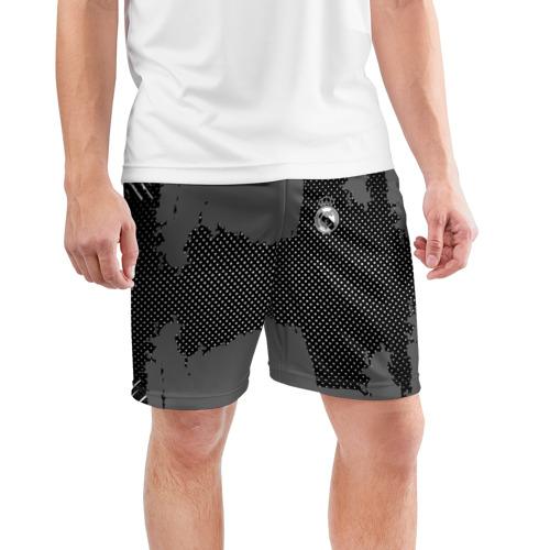 Мужские шорты 3D спортивные  Фото 03, REAL MADRID SPORT GRAY