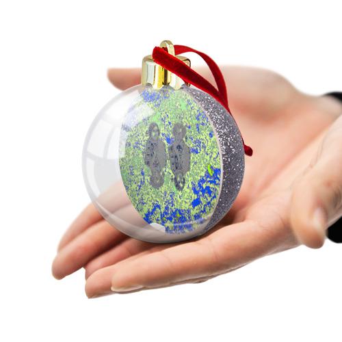 Ёлочный шар с блестками  Фото 03, Николай Гоголь