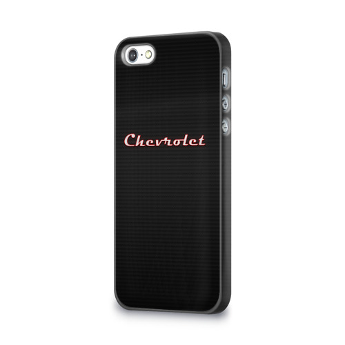 Чехол для Apple iPhone 5/5S 3D  Фото 03, Chevrolet Red