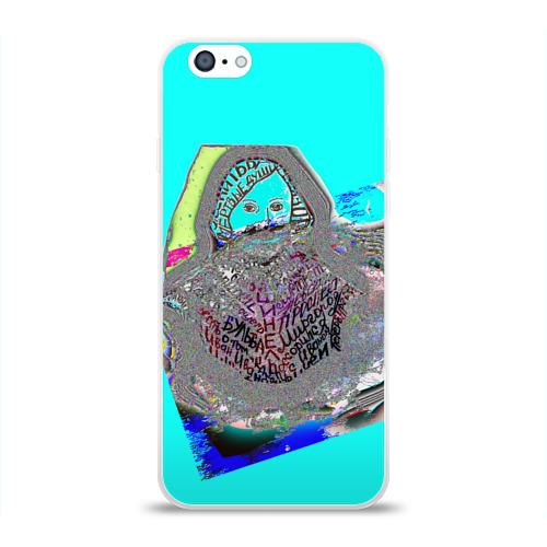 Чехол для Apple iPhone 6 силиконовый глянцевый  Фото 01, Николай Гоголь