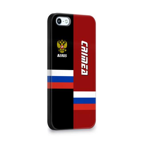 Чехол для Apple iPhone 5/5S 3D  Фото 02, Crimea (Крым)