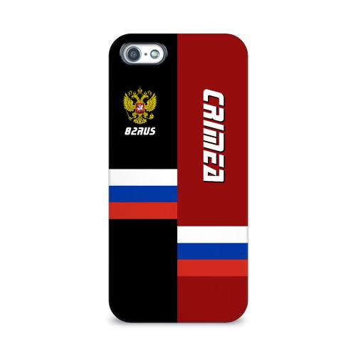 Чехол для Apple iPhone 5/5S 3D  Фото 01, Crimea (Крым)
