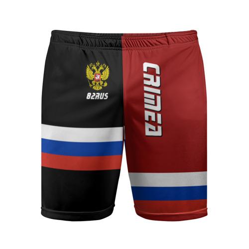 Мужские шорты 3D спортивные Crimea (Крым)