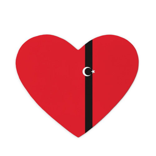 Коврик сердце  Фото 01, Турция лента