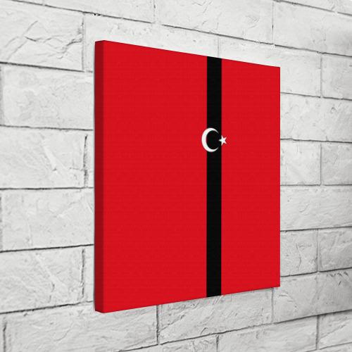 Холст квадратный  Фото 03, Турция лента
