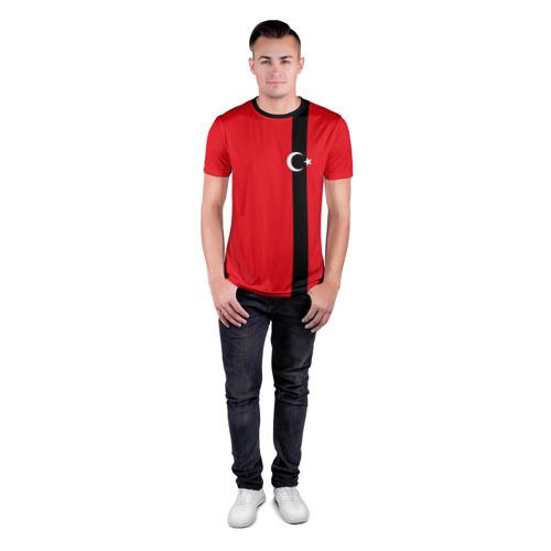Мужская футболка 3D спортивная  Фото 04, Турция лента