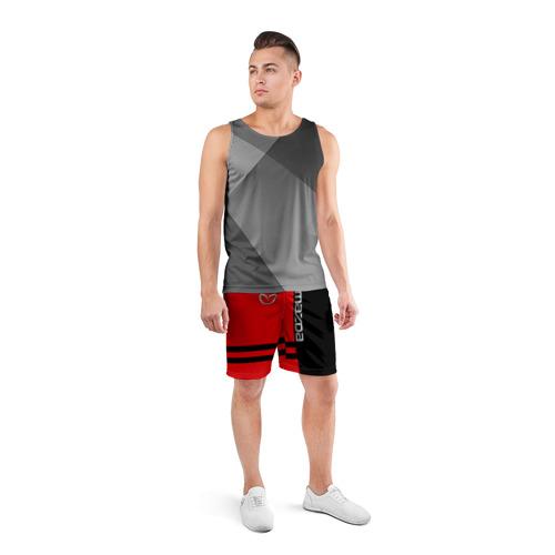 Мужские шорты 3D спортивные  Фото 04, Mazda