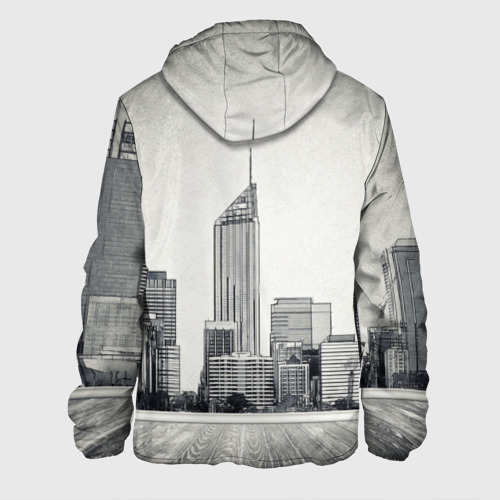 Мужская куртка 3D  Фото 02, Город ретро