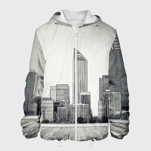 Мужская куртка 3D  Фото 01, Город ретро
