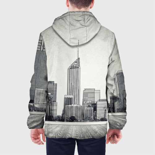 Мужская куртка 3D  Фото 05, Город ретро
