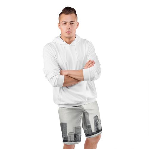 Мужские шорты 3D спортивные  Фото 05, Город ретро