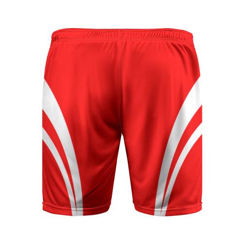 Мужские шорты 3D спортивные  Фото 02, Рокетс гостевая форма