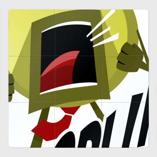 Магнитный плакат 3Х3 Hodl