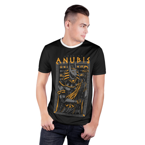 Мужская футболка 3D спортивная  Фото 03, Анубис Воин